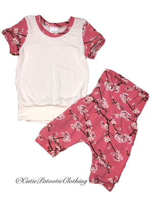 Cutie Patootie Clothing Co. - Grow T-shirt & Shorts Set (12m-3T)