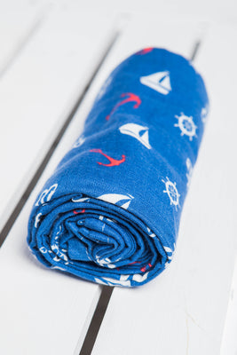 LennyLamb Swaddle Wrap - Sailor