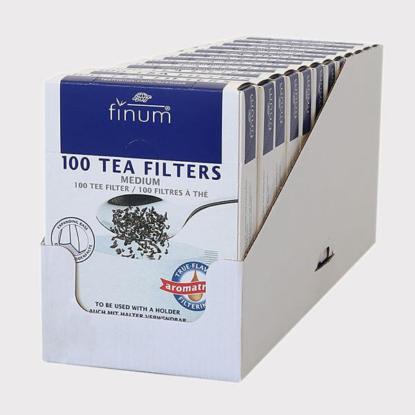 100 Tea Filters, biodegradable