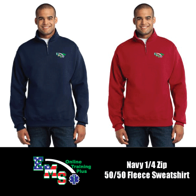 EMS Online Training Plus 1/4 Zip Sweatshirt