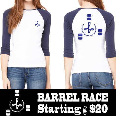Barrel Racing Tshirt!