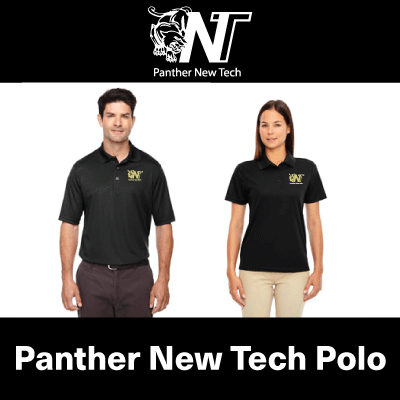 AHS New Tech Polo - Black