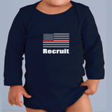 American Firefighter Training Officer Tee! Match with Baby Recruit Tee