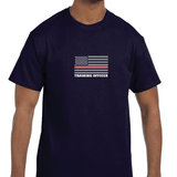 American Firefighter Recruit Baby Tee! Match with Dad Training Officer Tee