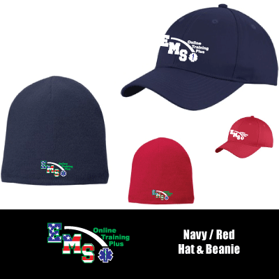 EMS Online Training Plus Cap & Beanie