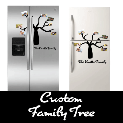 Custom Family Tree Decal!