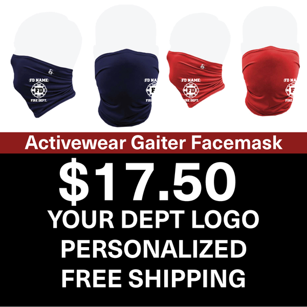 Custom Activewear Gaiter Facemask