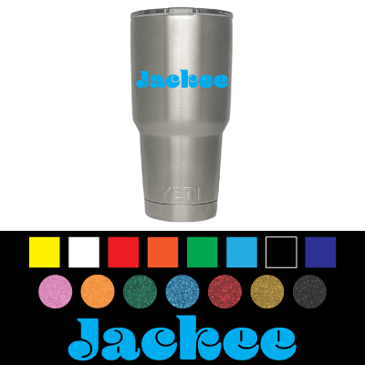 Customize your stainless steel mug