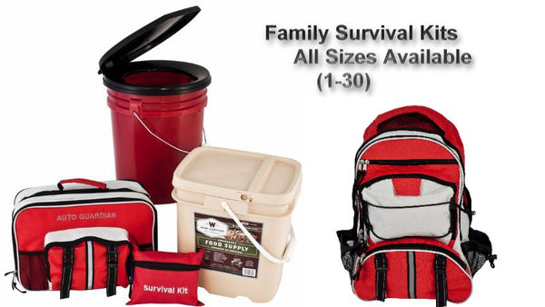 Disaster Preparedness can save your family's life!