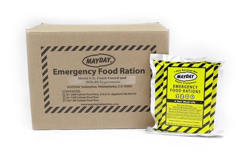 Box of Mayday Food Bars - Family Survival Supply