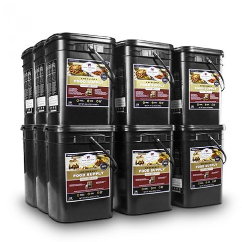 Family 6 Month Supply Long Term Food Storage - Family Survival Supply