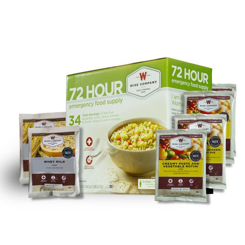 72 Hour Emergency Food Supply - Family Survival Supply