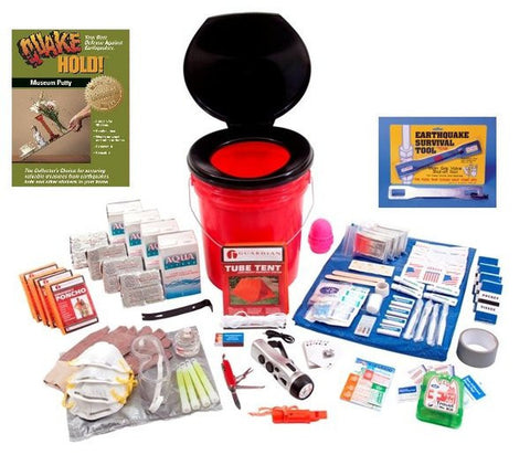 Family Earthquake Kit - Family Survival Supply