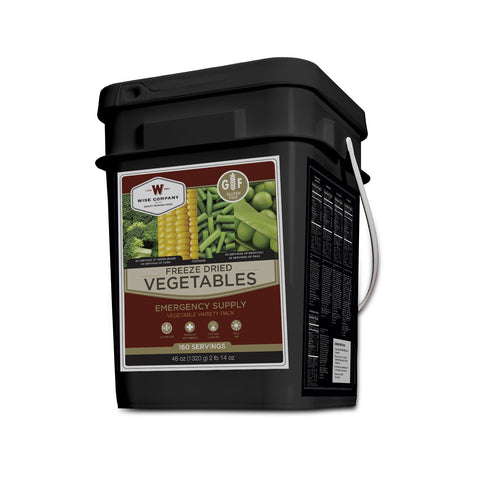 Gluten Free Freeze Dried Vegetable Long Term Food Storage