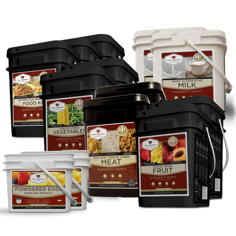 Gluten Free Deluxe Savings Package, 3 Months Long Term Food Storage - Family Survival Supply