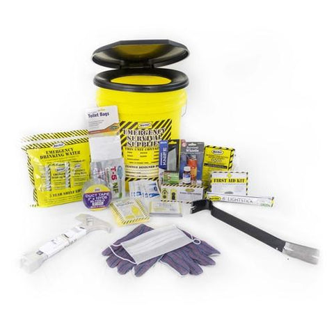 1 Person Deluxe Disaster Preparedness Kit - Family Survival Supply