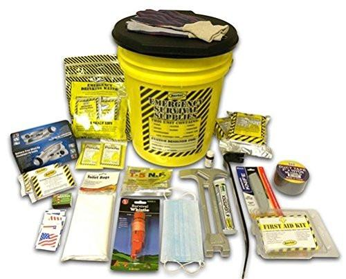 2 Person Deluxe Disaster Kit - Family Survival Supply