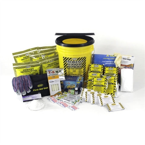5 Person Deluxe Emergency Bucket Kit - Family Survival Supply