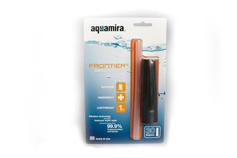 Aquamira Frontier Straw Water Filtration System - Family Survival Supply