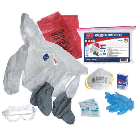 Deluxe Pandemic Flu Kit - Family Survival Supply