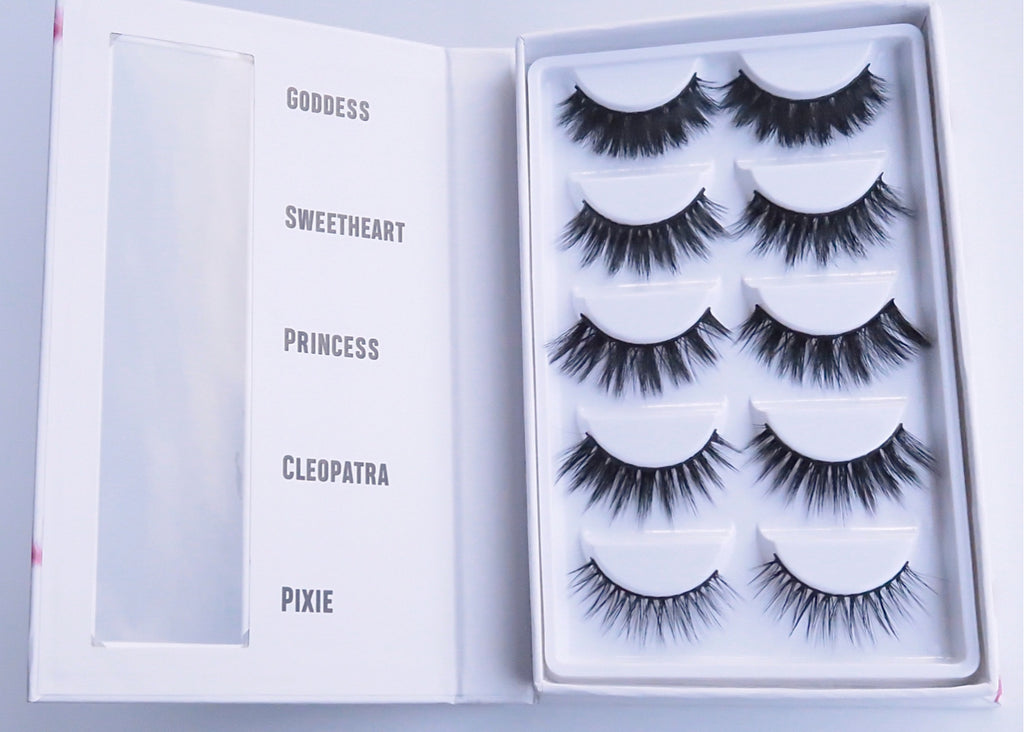 5 Pair Mix LashBook