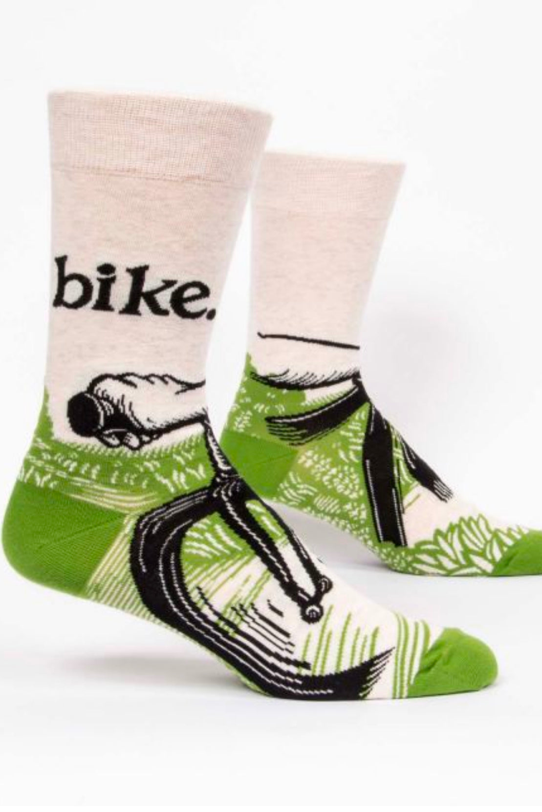 Blue Q Bike Path Men's socks