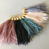 Mason Feather Earrings