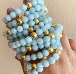 Light Aquamarine Bracelet