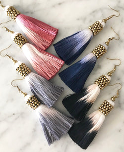 Mya Tassel Earrings