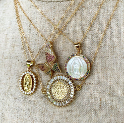 Pavé Short Necklaces