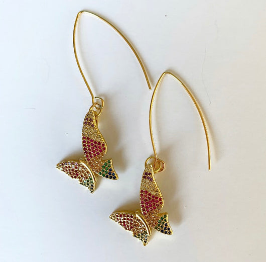 Monarch Rainbow Earrings