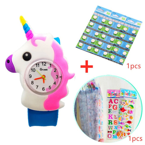 2020 Hot Pony Watch Children Birthday Gifts Unicorn Watch Girl Boy Child Clock Students Sports Quartz Kids Watches Free Shipping
