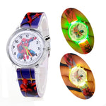 Glow Light Toys Children Watches Digital Electronic Light Source Child Watch Boys Birthday Party Kids Gift Clock Baby Watches