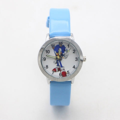 New arrival Fashion Quartz kids cartoon Sonic Lovely Watch children student girls boys Watches Reloj Mujer kol saati Feminino