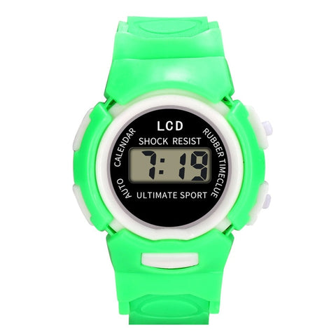 OTOKY Watches Children Girls Analog Digital Sport LED Electronic Waterproof Wrist Watch Silicone Band kids Watch Gift Aug14