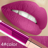 24 Color Make Up Liquid Lipstick Waterproof Mate Red Lip Long Lasting Ultra Matte Lip Gloss Black Blue Nude Lipstick