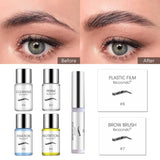 1 Set Semi-pernament Brow Lift Kit Eyebrow Lamination Kit Styling Perming Setting Curling Brow Lamination Beauty Salon Home Use