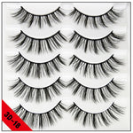 5 pairs natural false eyelashes fake lashes long makeup 3d mink lashes eyelash extension mink eyelashes for beauty