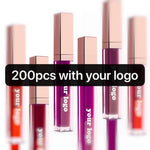 Private Label Bulk Cosmetics Lip Liquid Matte Lipstick Lipgloss High Quality Custom Logo Wholesale Make Your Own Makeup Brand