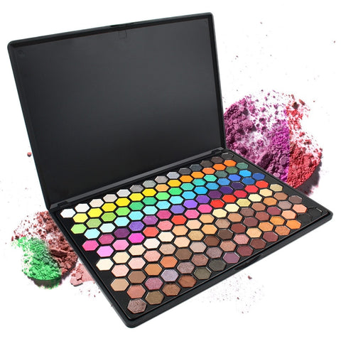 Professional 149 Color Eyeshadow Palette Colorful Shimmer Matte Eyeshadow Pallete With Mirror Beauty Makeup Cosmetic