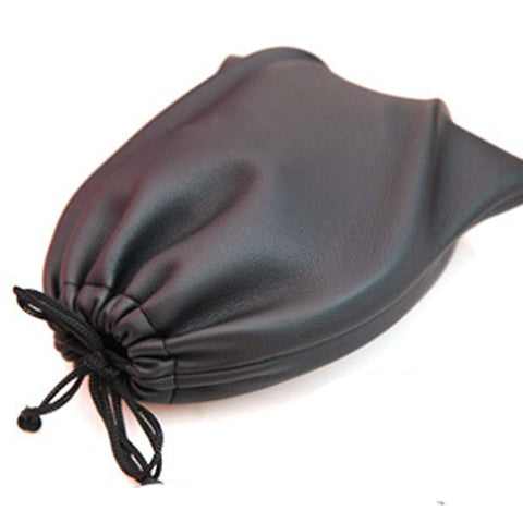Leather Soft Storage Bag Pouch case for Around Ear AE TP-1 DJ Headphones