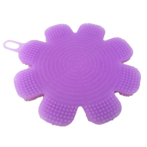 Silicone Dish Washing Sponge Scrubber Kitchen Cleaning Antibacterial Supplies