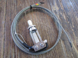 Vintage Style Pre-Wired Switchcraft Standard / Tall Frame Toggle | Choose Finish, Switch Tip Color, & Optional Output Jack