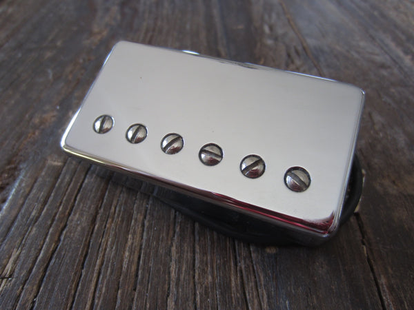 "Seymour Duncan SH-11 Custom Custom Humbucker | Chrome, 11""+ 4-Conductor Lead, 13.97 kΩ DCR"