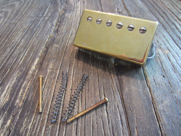 Gibson 490R AlNICO II Neck Humbucker | Gold, 7.7 kΩ, Complete with Screws & Springs