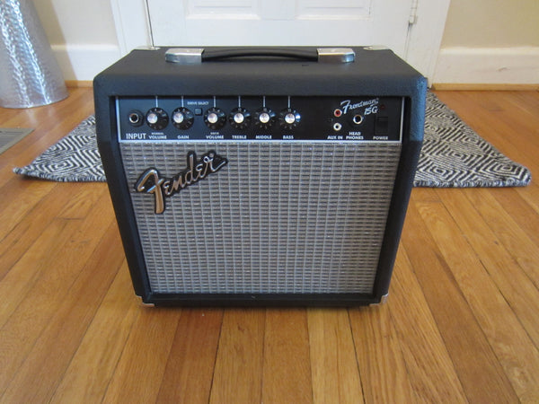 Fender Frontman 15G Practice Amp | 2-Channel, Very Clean w/ Power Cord