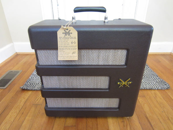 Fender Pawn Shop Excelsior 13w 1 x 15 Tube Combo | Fantastic Condition w/ Tremolo