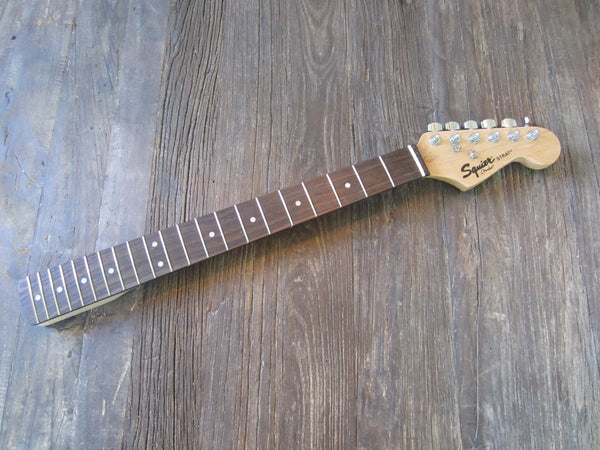 2007 Squier by Fender Strat Pack SE Stratocaster Neck | Small Headstock, Maple w/ Rosewood