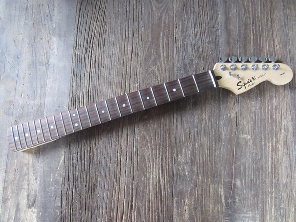 2008 Squier by Fender Affinity Series Stratocaster Maple Neck | 21-Fret Rosewood Board w/ Tuning Machines