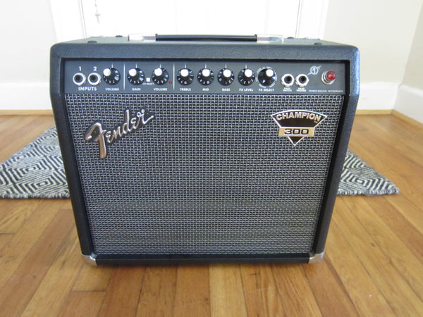 Fender Champion 300 1 x 10 Practice Amp w/ Built-In Effects